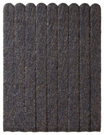 Brown 5 7 8 X Heavy Duty Felt Strips Contemporary Furniture Floor Protectors By The