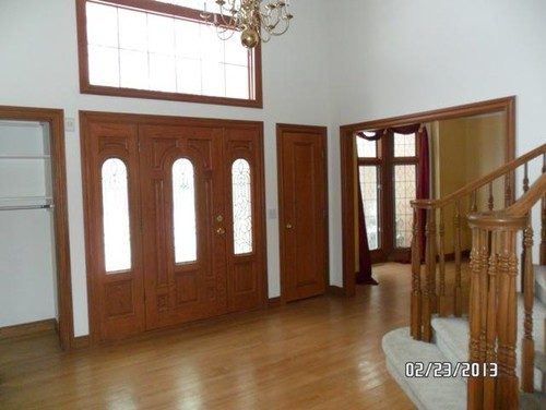 what to do with stained trim and doors