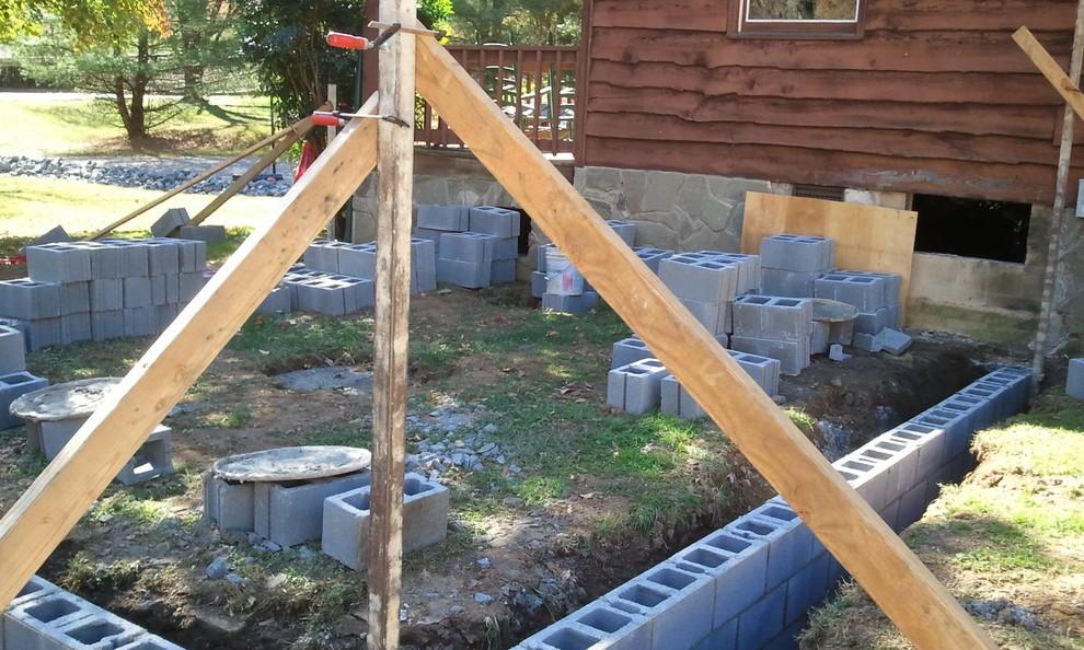House Addition: Foundation