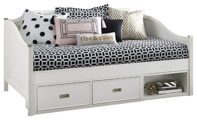 Gisele Daybed, Full, Underbed Storage Drawers.