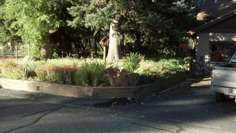 The front side of the Secert garden