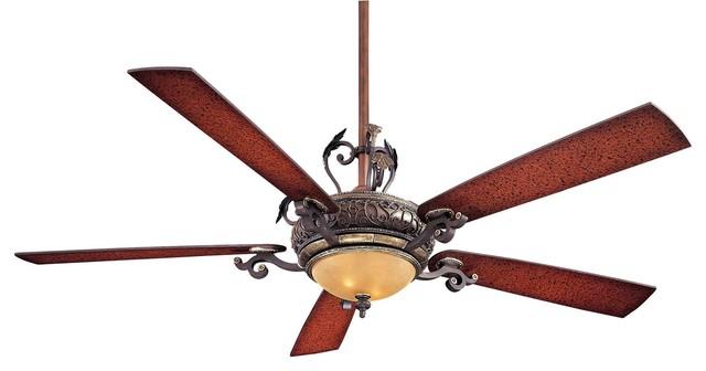 Minka-Aire Napoli Ceiling Fan, Sterling Walnut.