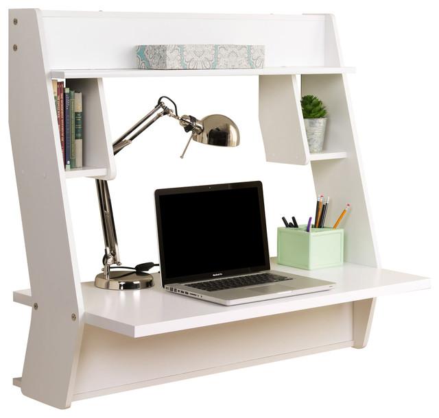 Studio Floating Desk, White.