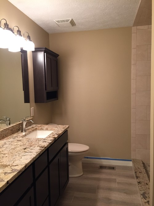 Ceiling Master Bath Paint Color With No Crown Molding