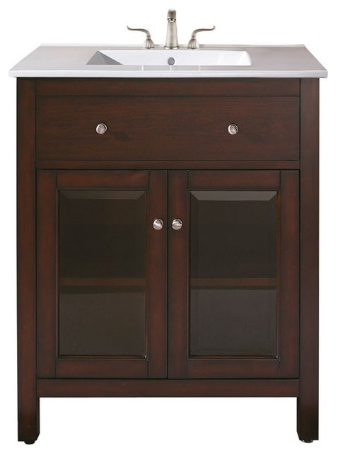 24 In Bathroom Vanity Traditional Bathroom Vanities And Sink Consoles