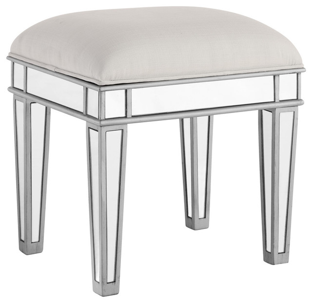 Chamberlan Dressing Stool Transitional Vanity Stools