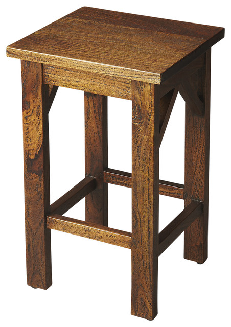 butler specialty company hubbard solid wood backless bar stool bar stools and counter stools. Black Bedroom Furniture Sets. Home Design Ideas