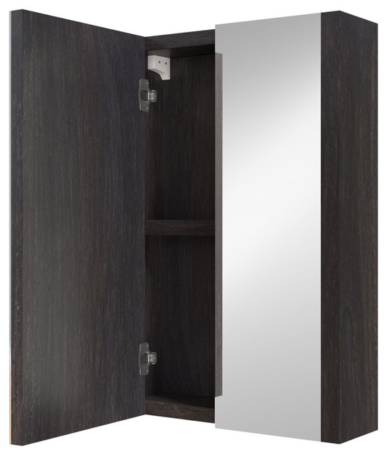 "Maddox Medicine Cabinet With Mirror, 24""."
