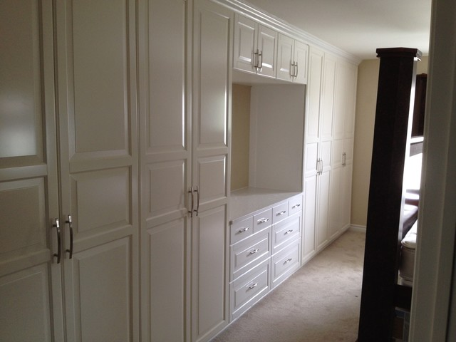 Master Bedroom Wardrobe Built Ins Modern Toronto By City Renovation