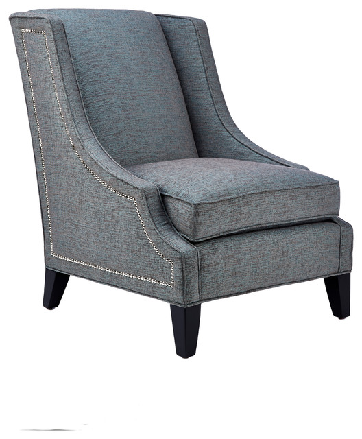 Rooney wing chair traditional armchairs and accent for Chair design toronto