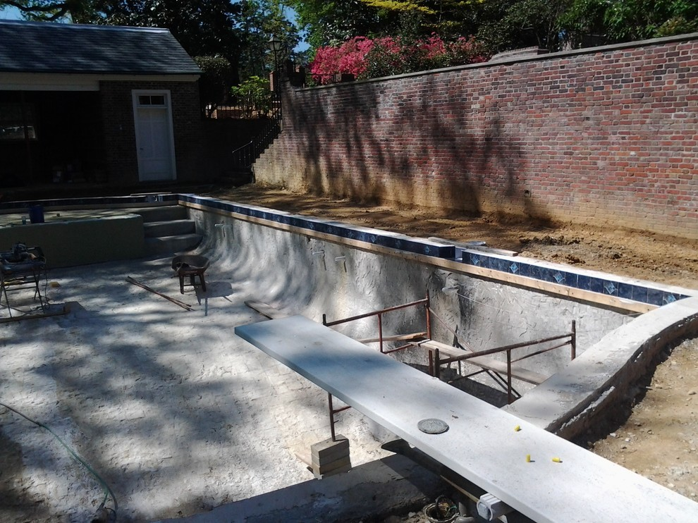 CONSTRUCTION Greensboro Decorative Pool Tile Renovation