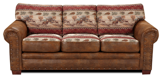 deer valley sofa southwestern sofas by american furniture classics. Black Bedroom Furniture Sets. Home Design Ideas