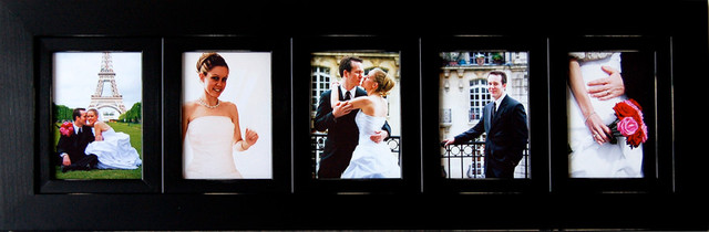 collage picture frames wood frame with 5 openings 4x6 rustic picture frames