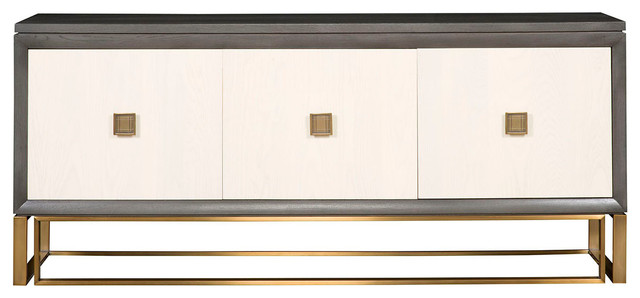 Vanguard Furniture Wallace Storage Console P219SC LG  Contemporary Buffets And Sideboards