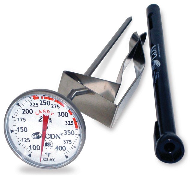 CDN Candy Deep Fry Thermometer Glass TCF400