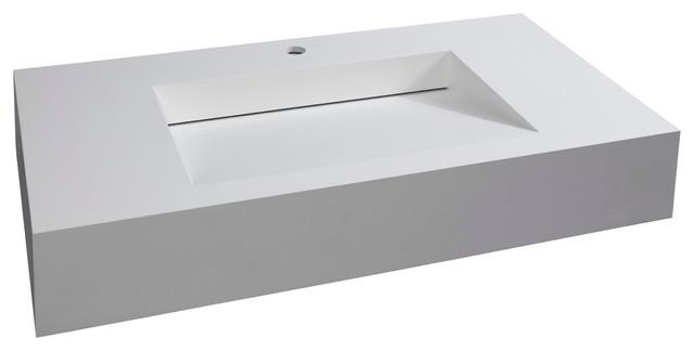 Pyramid Countertop Basin Sink.