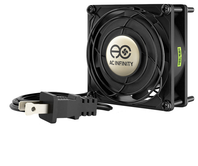 Ac Infinity Axial 8025, Muffin 115v Ac Cooling Fan, 80 X 80 X 25 Mm.
