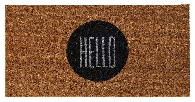 Bloomingville Door mat - 'HELLO'