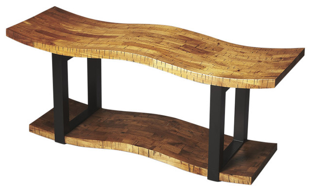Admirable Leopold Reclaimed Wood Bench Alphanode Cool Chair Designs And Ideas Alphanodeonline