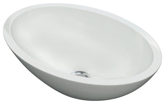 Monticelli Vessel Bathroom Sink, 50 cm