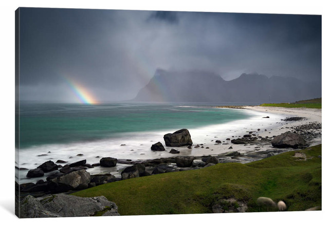 Lofoten Norway I By Andreas Stridsberg Canvas Print Beach Style Prints And Posters By Icanvas Houzz