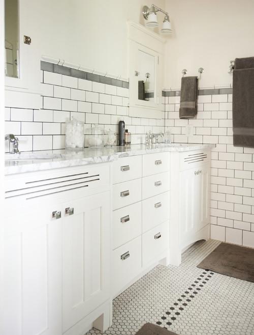 modern bathroom remodel in atlanta