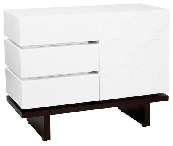 Nurseryworks Two Wide Changing Table Modern Changing