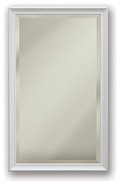 Studio V 15 X 25 White Medicine Cabinet Contemporary Cabinets By Luxury Bath Collection