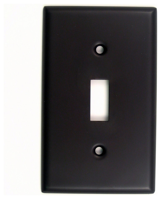 rusticware llc single cable switch plate switch plates and outlet covers houzz. Black Bedroom Furniture Sets. Home Design Ideas
