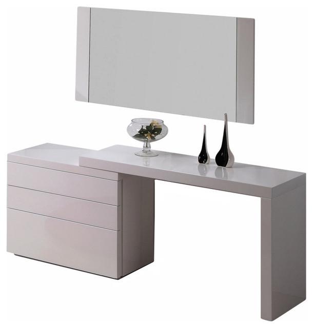 Athens 4-Piece Dresser Set, White
