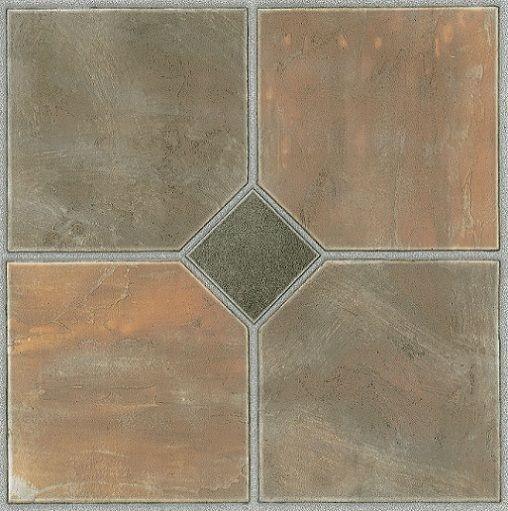 Tivoli Rustic Slate 12x12 Self Adhesive Vinyl Floor Tiles 45