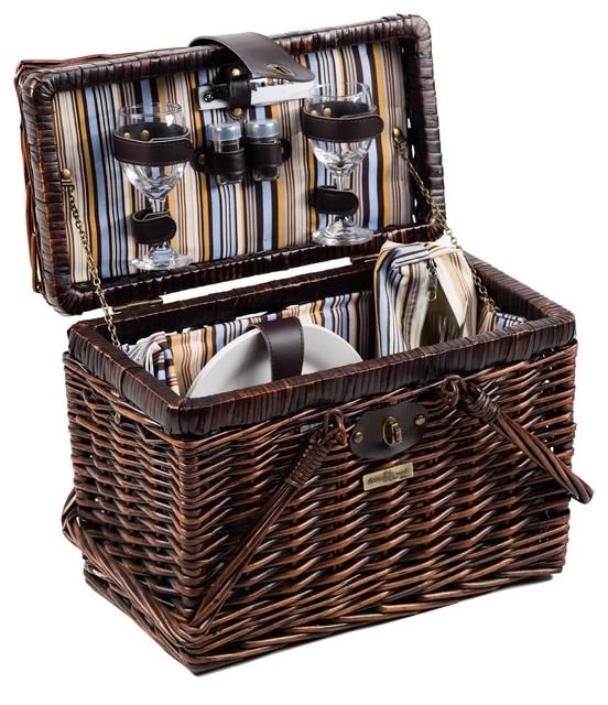 Squaw Willow 2-Person Picnic Basket.