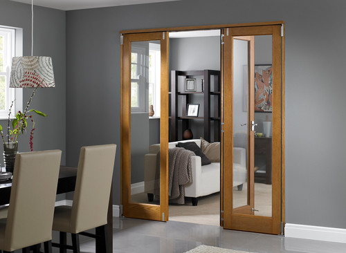 Replacing Our Sliding Glass Door With A Wooden Frame Bifold In Usa