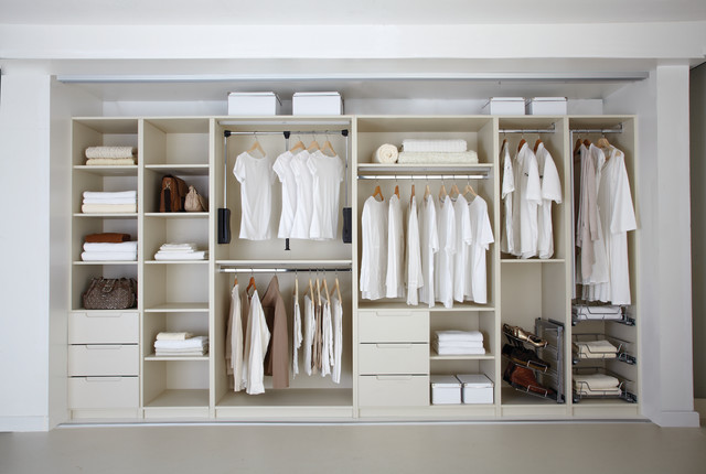 Wardrobe Interior Design Classic Traditional Closet