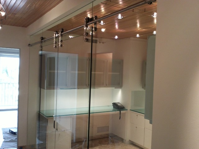 Interior Barn Door With Glass barn doors with glass. rolling door brackets sliding barn door