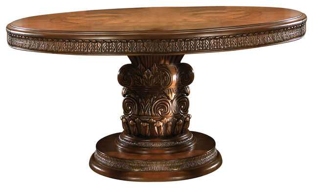 Villa Valencia Round Oval Dining Table Victorian Dining Tables By Wareh