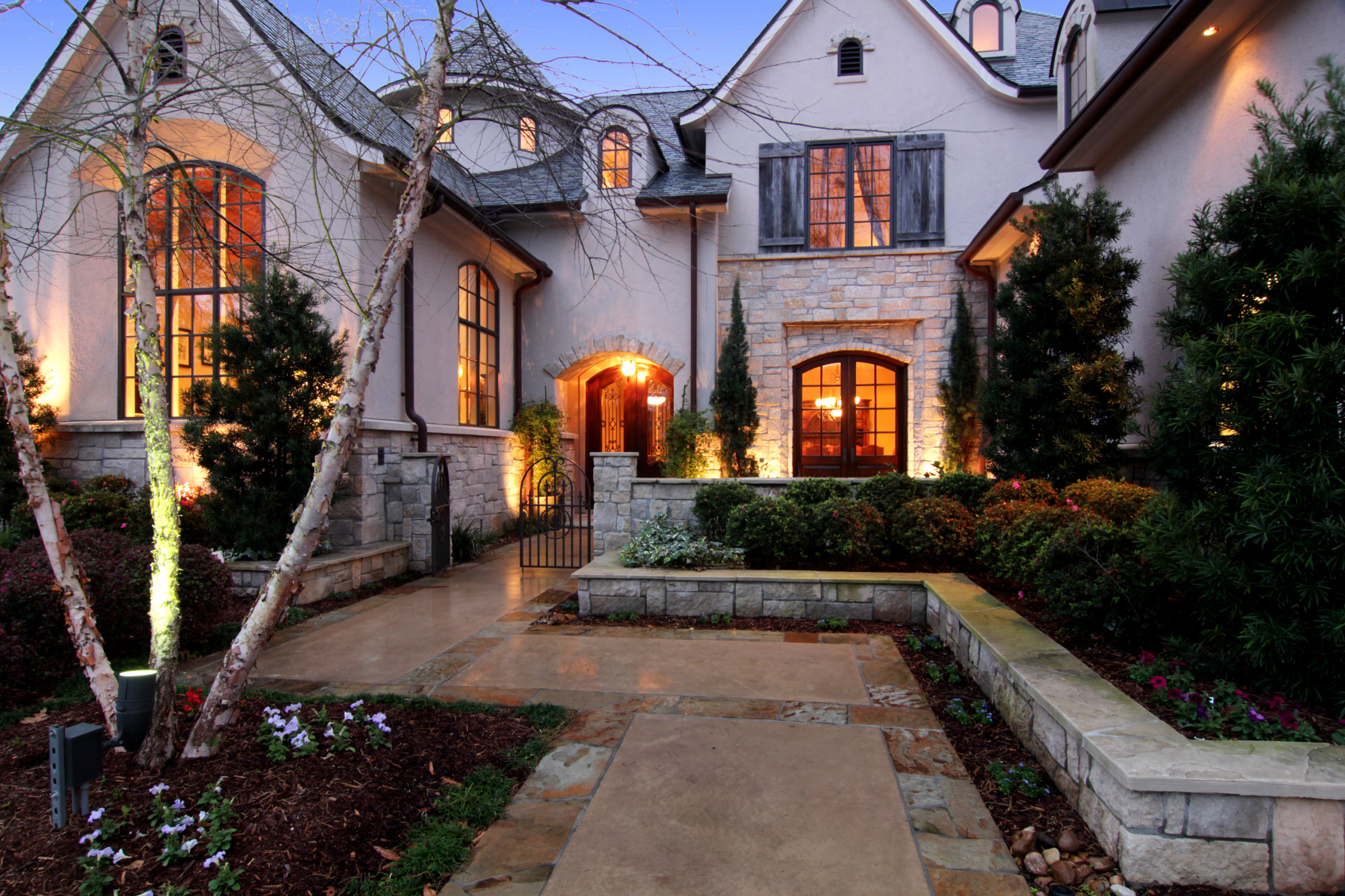French Country New Home