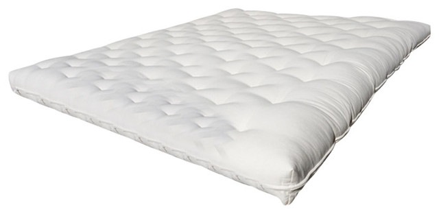 Firm Chemical-Free Wool Futon Mattress Twin Xl, Ecopure.