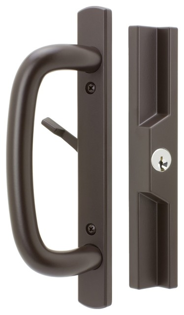 FPL Door Locks U0026 Hardware   Veranda Sliding Door Handles With Lock, Keyed, 1