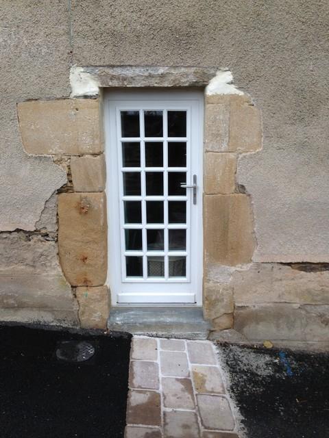 Porte fenetre clermont ferrand par les menuiseries for Porte fenetre arrondie