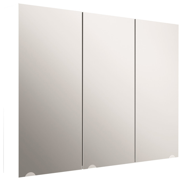 White Mirror Cabinet - Contemporary - Medicine Cabinets - by Contempo Vanities
