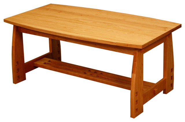 Craftsman Coffee Table Solid Cherry