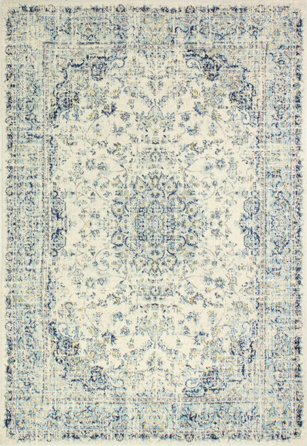 Montreux Rug, Ivory, 8&x27;6x11&x27;6.