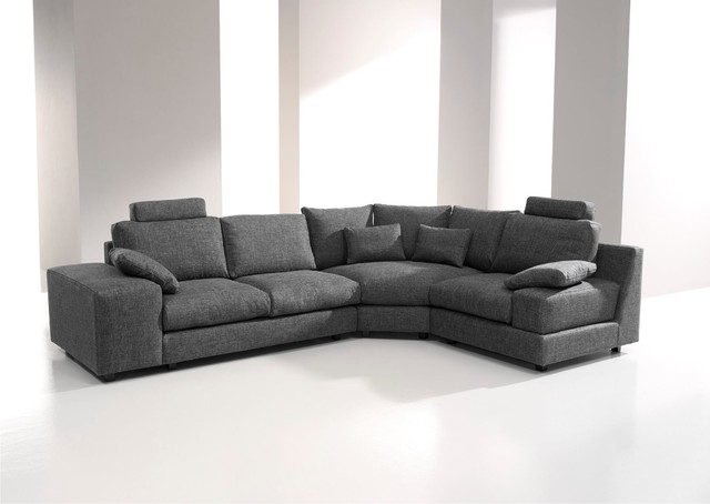 Calisto Contemporary Fabric Modular Sofa By Famaliving