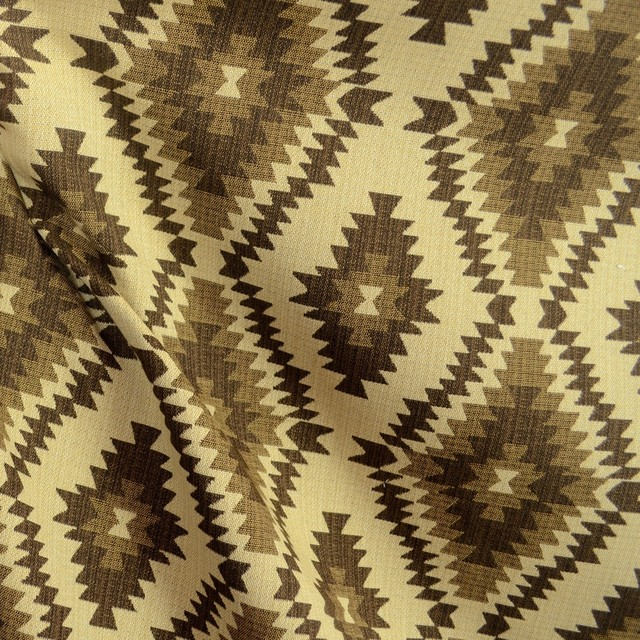 Carson Saddle Southwest Upholstery Fabric