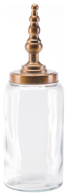 Zuo Modern A10843 Tower Steel Large Jar