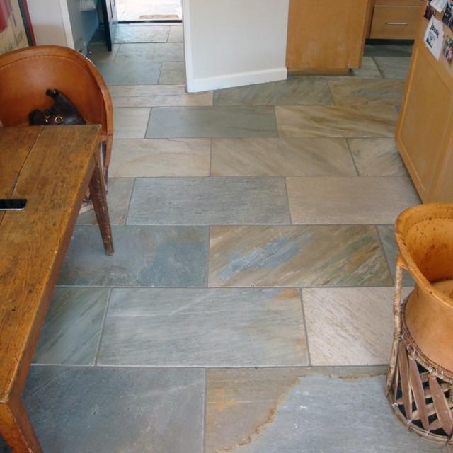 Slate Floor Mediterranean Wall And Floor Tile Other