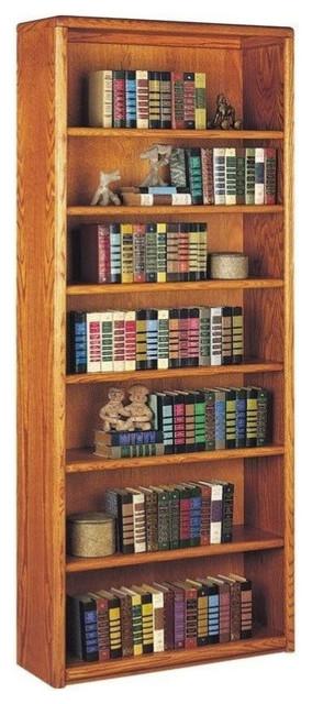 Martin Furniture Contemporary 7 Shelf Bookcase