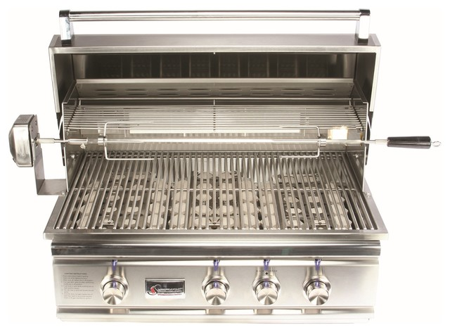 "Summerset Grills 32"" Trl Stainless Steel Propane Gas Grill."