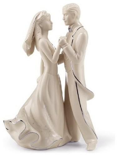 Lenox Wedding First Dance Cake Topper Bride Groom